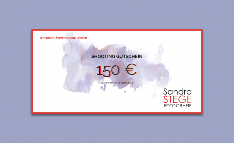 150€ Gutschein - Sandra Stege Fotografie Osnabrück