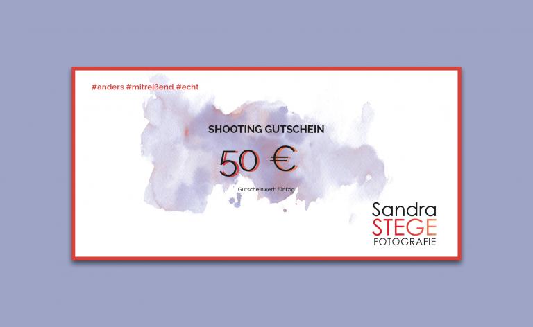 50€ Gutschein - Sandra Stege Fotografie Osnabrück
