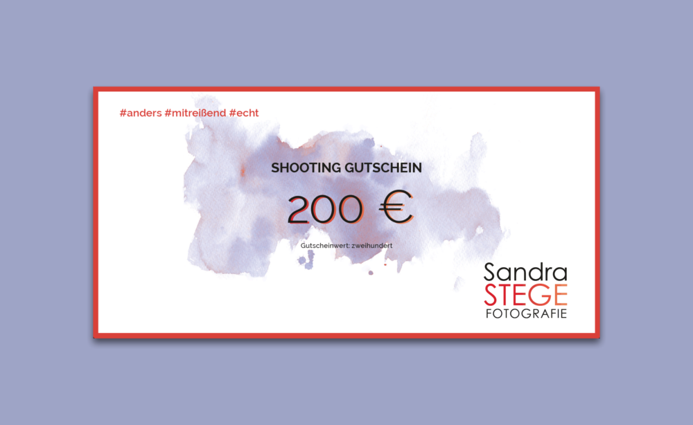 200€ Gutschein - Sandra Stege Fotografie Osnabrück